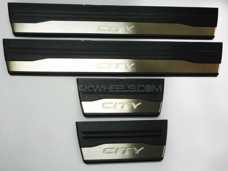 Door Sill Plates Honda City 2009-2017 Oem Image-1