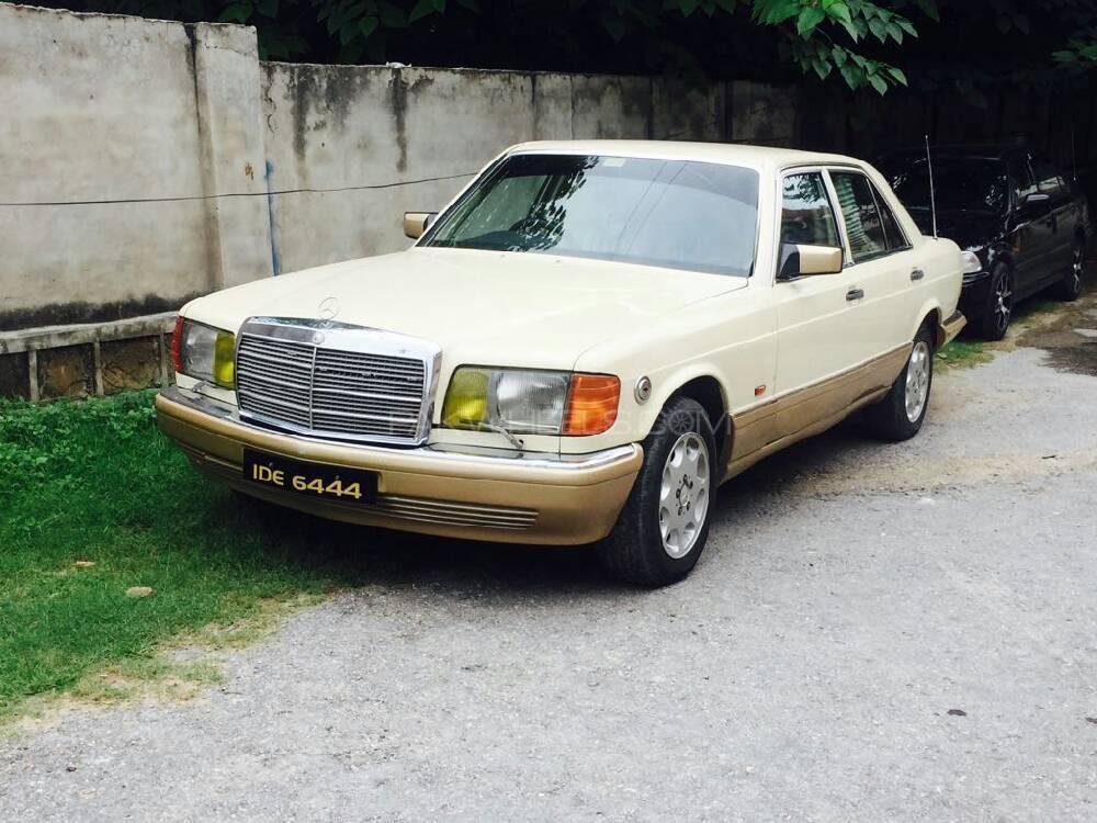Mercedes Benz S Class 1986 Image-1