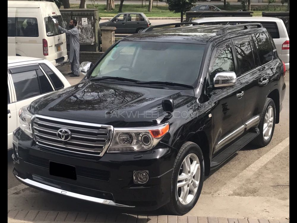 toyota land cruiser zx 2009 for sale in islamabad