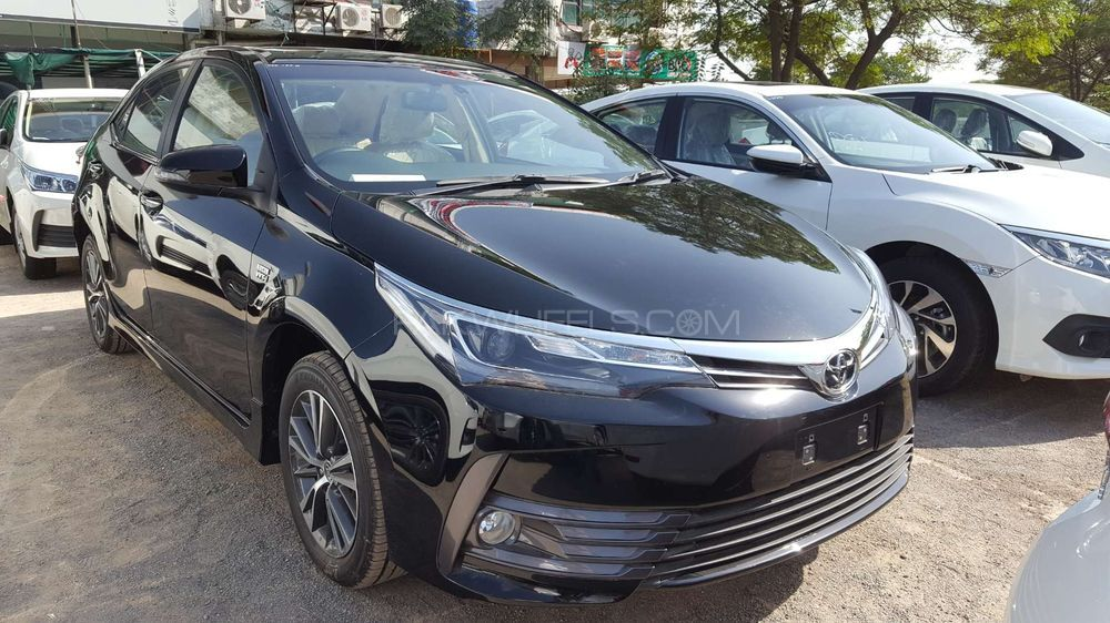 Toyota Corolla Altis Grande Cvt I 1 8 2017 For Sale In