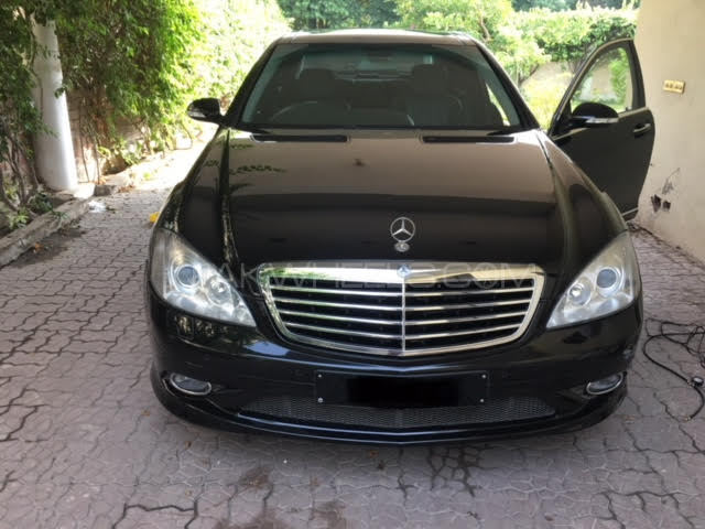 Mercedes benz s class s500 2007 for sale in islamabad for Mercedes benz 2007 s550 for sale