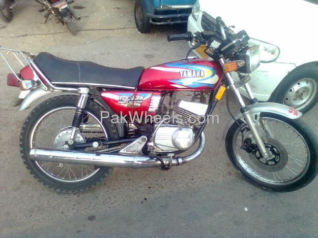 Used yamaha rx 115 1983 bike for sale in karachi 100821 for Yamaha rx115 motorcycle for sale