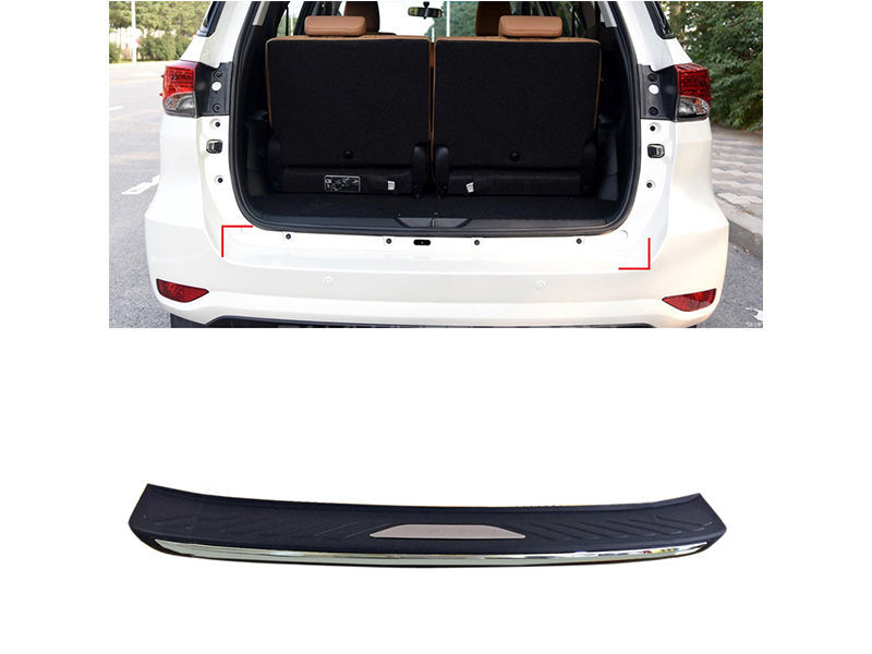 Buy Toyota Fortuner Boot Sill Plate in Pakistan | PakWheels