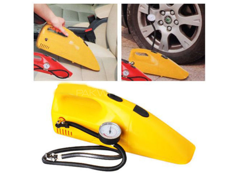 2 In1 Vacuum With Tire Inflator  in Lahore