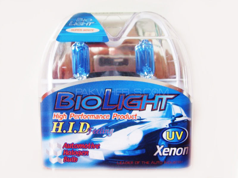 BioLight 12v/100w Extra Superwhite B4 9006 Tube Set Image-1