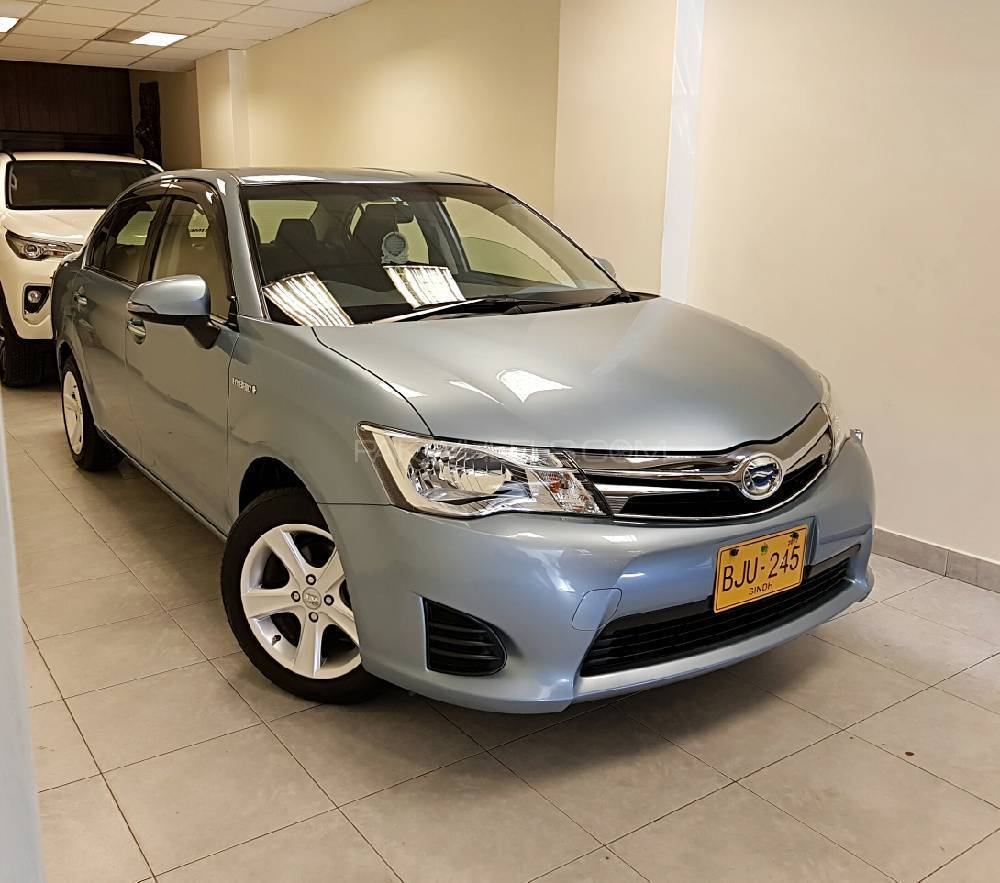 Toyota Corolla Axio Hybrid 1.5 2014 For Sale In Karachi