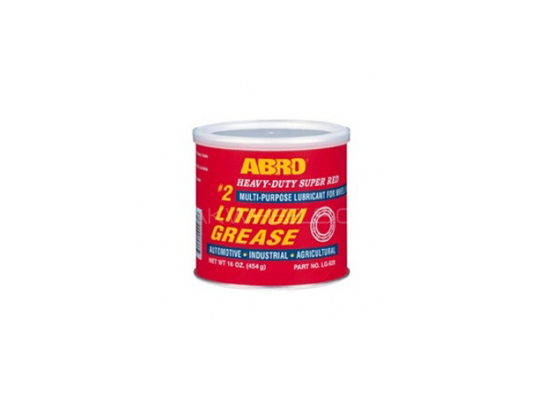 ABRO #2 Super Red Lithium Grease - 454gm Image-1