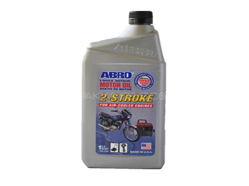 ABRO 2-Stroke Oil - 1 Litre Image-1