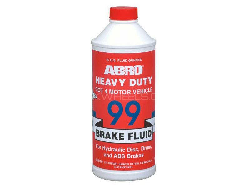 ABRO Brake Fluid DOT 4 - 485 ml Image-1