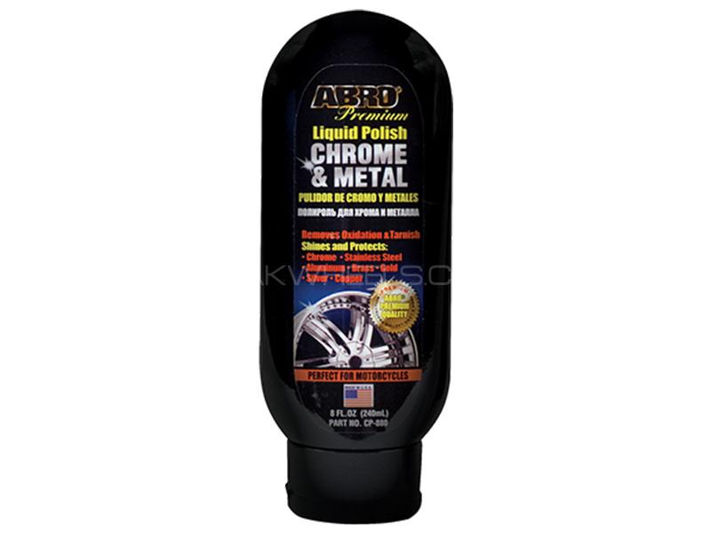 ABRO Chrome & Metal Polish Image-1