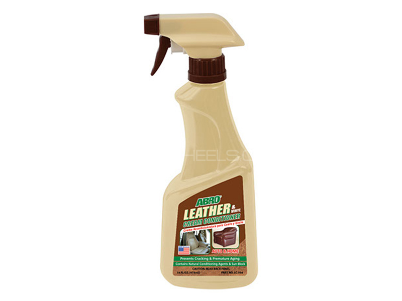 ABRO Leather Cream Conditioner - 472 ml in Karachi