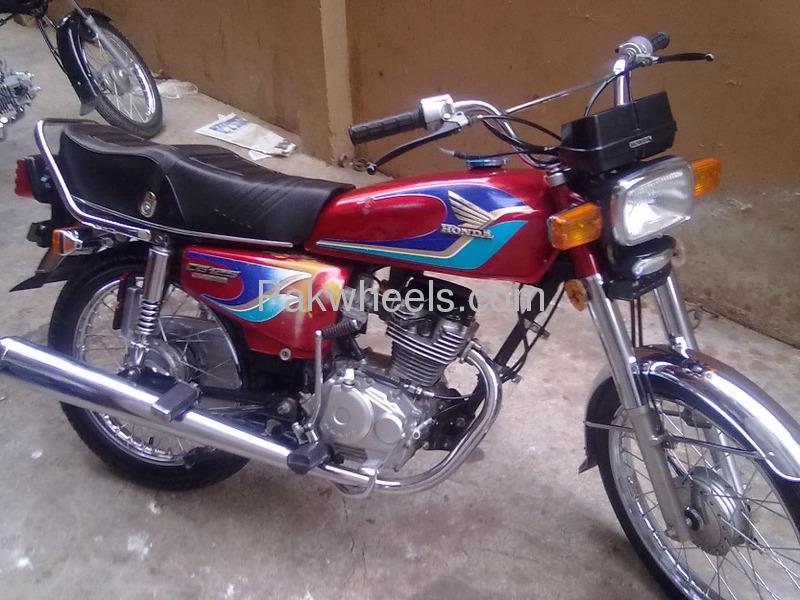 used honda cg 125 1998 bike for sale in karachi 101719 pakwheels. Black Bedroom Furniture Sets. Home Design Ideas