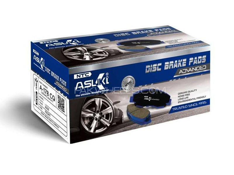 Toyota Vitz  2001-2005 Asuki Advanced Brake Pads Front - A-75 AD Image-1