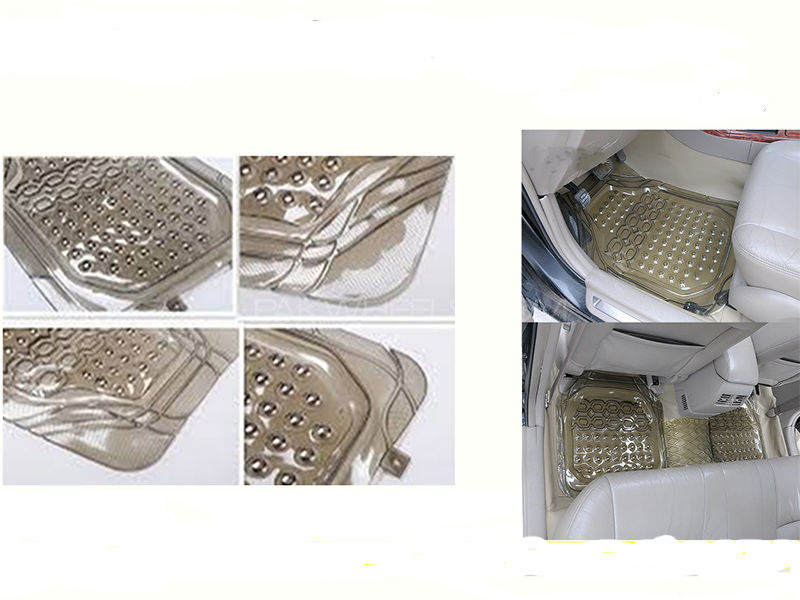 Universal PVC Car Floor Mat Image-1