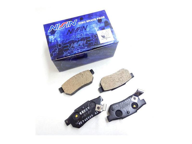 Honda Brake Pads >> Honda Civic 2002 2006 Nissin Rear Brake Pads