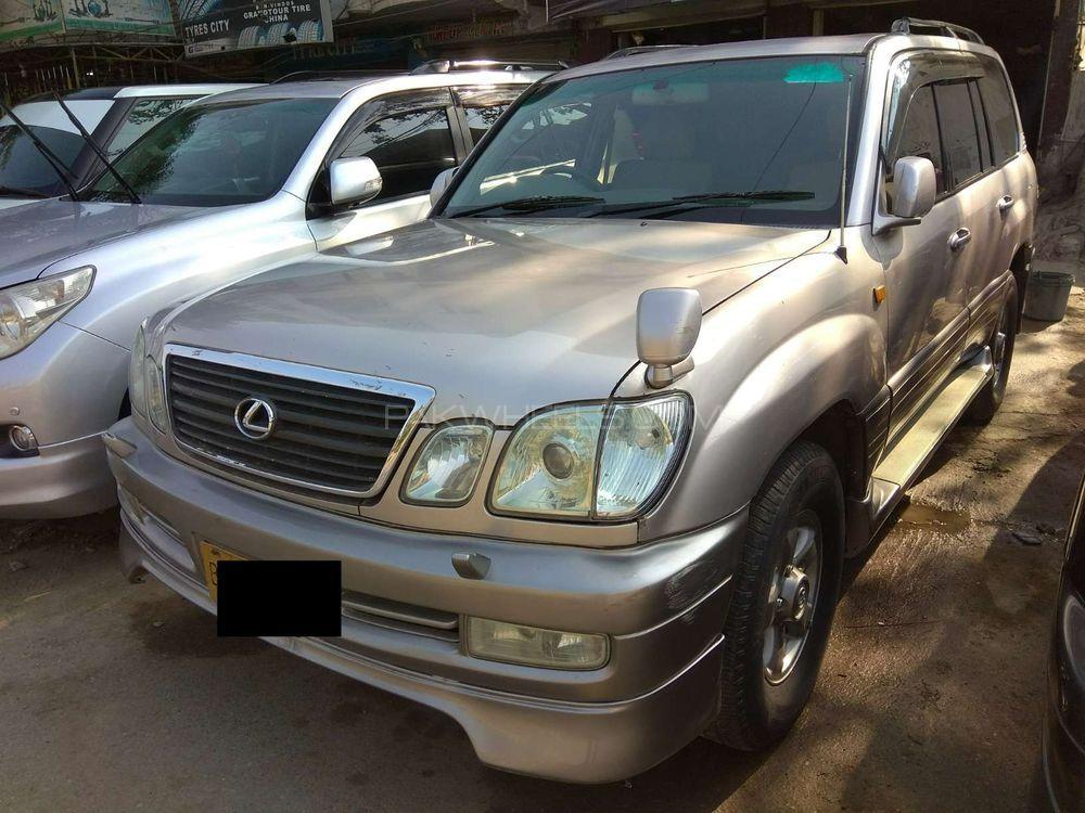 Lexus lx series lx470 1998 for sale in karachi pakwheels lexus lx series lx470 1998 publicscrutiny Gallery