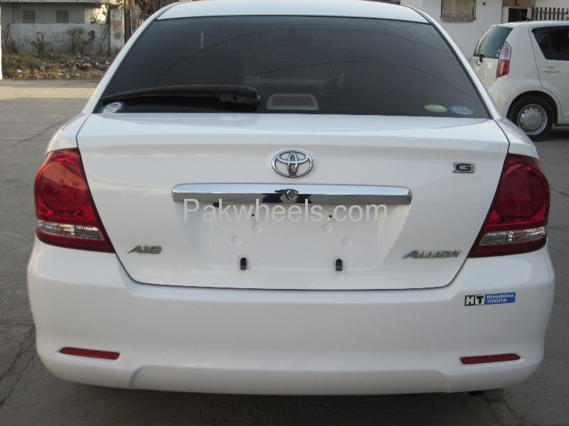 Toyota Allion A18 G PACKAGE LUXURY EDITION 2007 Image-7
