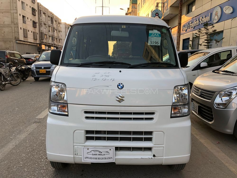 ®GARIWALA® Suzuki Every , 660c.c, Super White,  Model 2012, Fresh cleared/import 2017, PC-Highroof Package, Original 4-Grade Auction Sheet( Verifiable ), Original 145,799 K.M( Verifiable ), Automatic Transmission, Key Start, Power Steering, Original Front Power Windows, Air Conditioning System, ABS Braking System, Air-Bags, Original Wheels, Back camera, CD-Player, 100 % Genuine/ Guarantee.