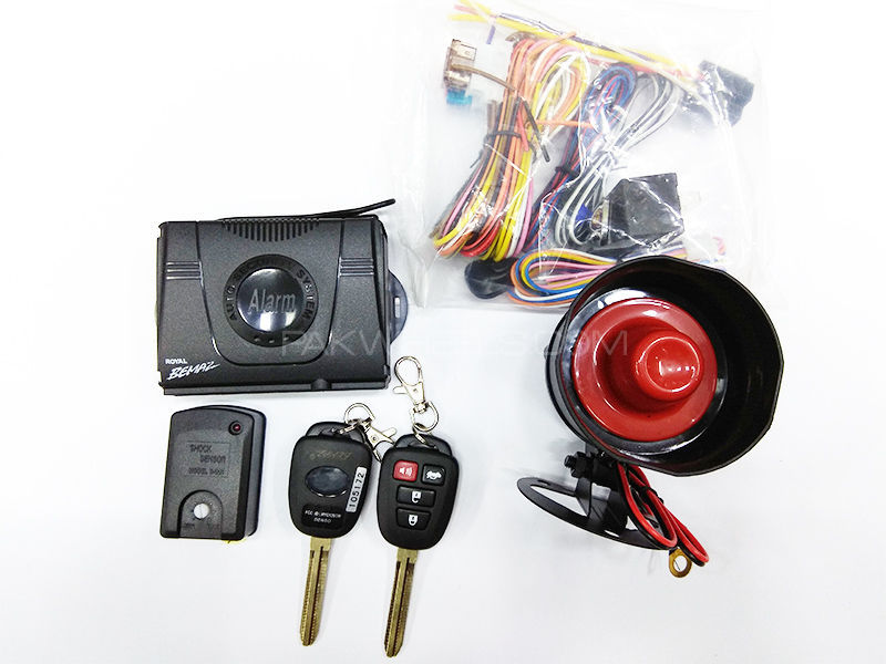 Bemaz Car Alarm System With Key - A 27 B in Lahore