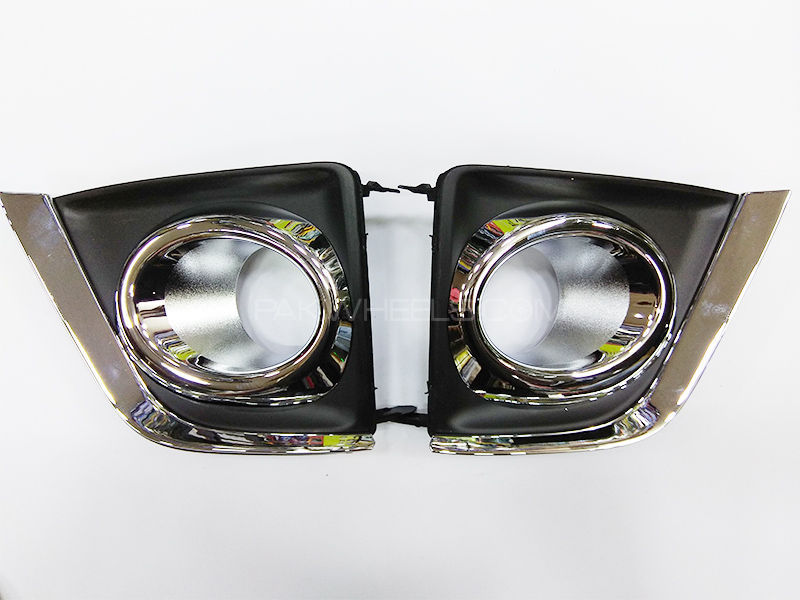 Pentair Fog Light Cover Double Chrome - Corolla 2014-2018 in Lahore