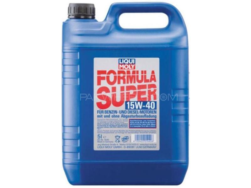 LIQUI MOLY Formula Super 15w-40 API-SJ - 4 Litre Image-1