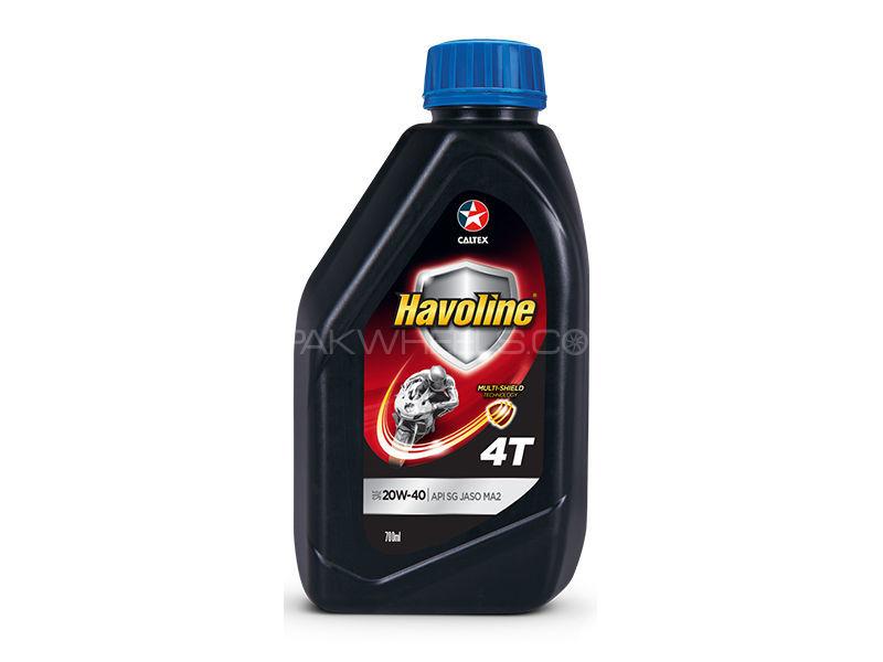 Havoline SAE 20w40 For Bikes 700 ML Image-1