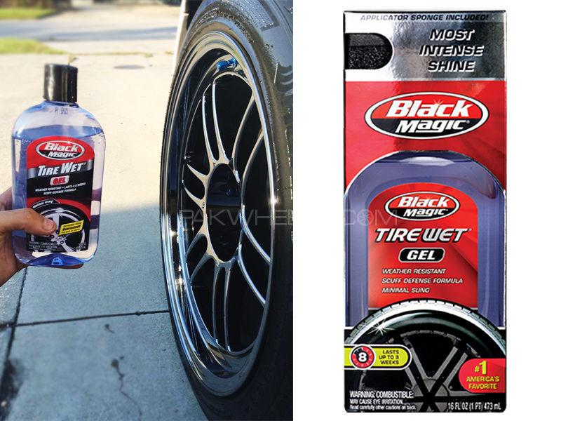 Black Magic Tire Wet Gel Image-1