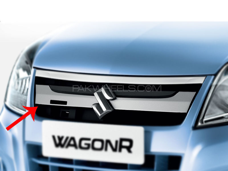 Suzuki Wagon R Genuine Grill Chrome Only  in Lahore