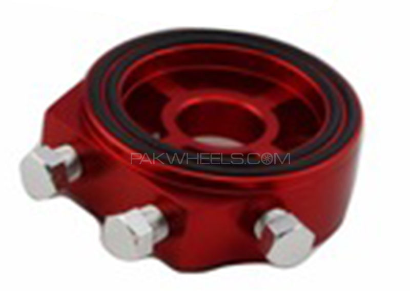 Universal Tomei Oil Adaptor - Red in Karachi