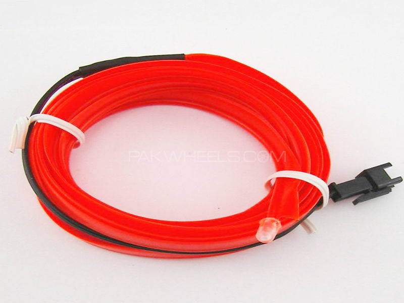 Universal EL Glow Wire - Orange in Karachi