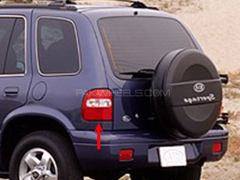 Kia Sportage TYC Back Lamp 1998-2002 - 1 Pc LH in Lahore