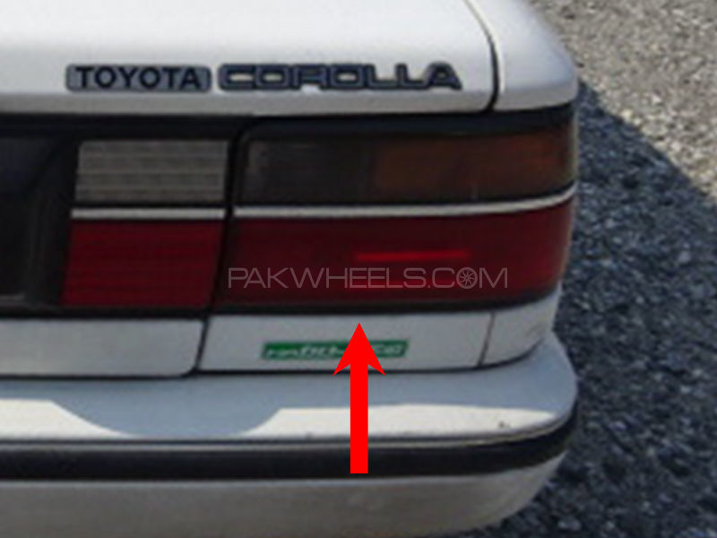 Toyota Corolla TYC Back Lamp 1989 - 1 Pc RH in Lahore