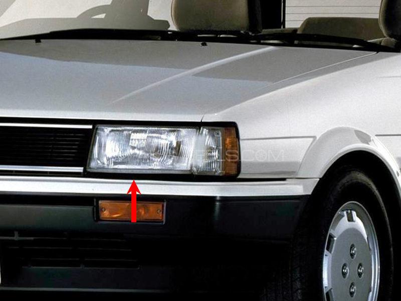Toyota Corolla TYC Head Lamp 1986 - 1 Pc LH Image-1