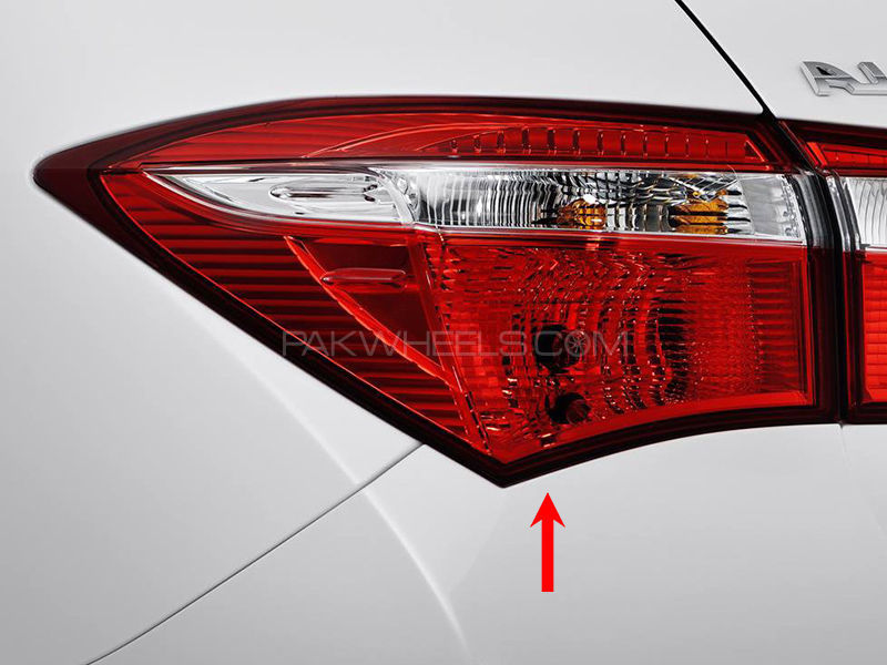 Toyota Corolla TYC Back Lamp 2015 XLi - 1 Pc LH Image-1