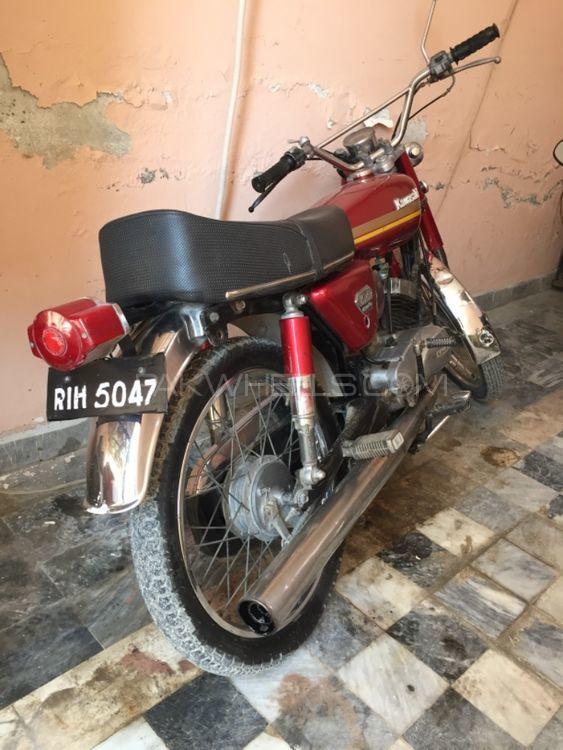 Kawasaki KX100 1984 Image-1