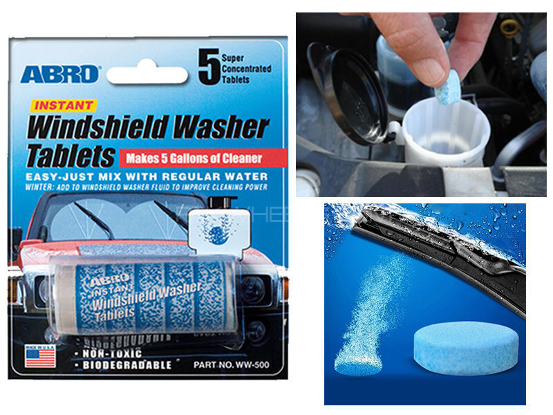 ABRO Windshield Washer Tablets Image-1