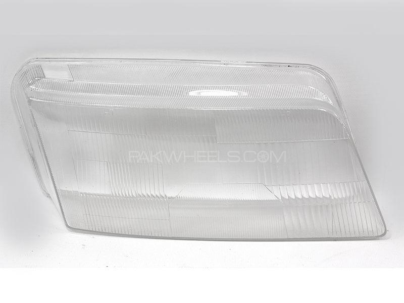 Toyota Corolla 1988 Head Light Glass 1pc  Image-1