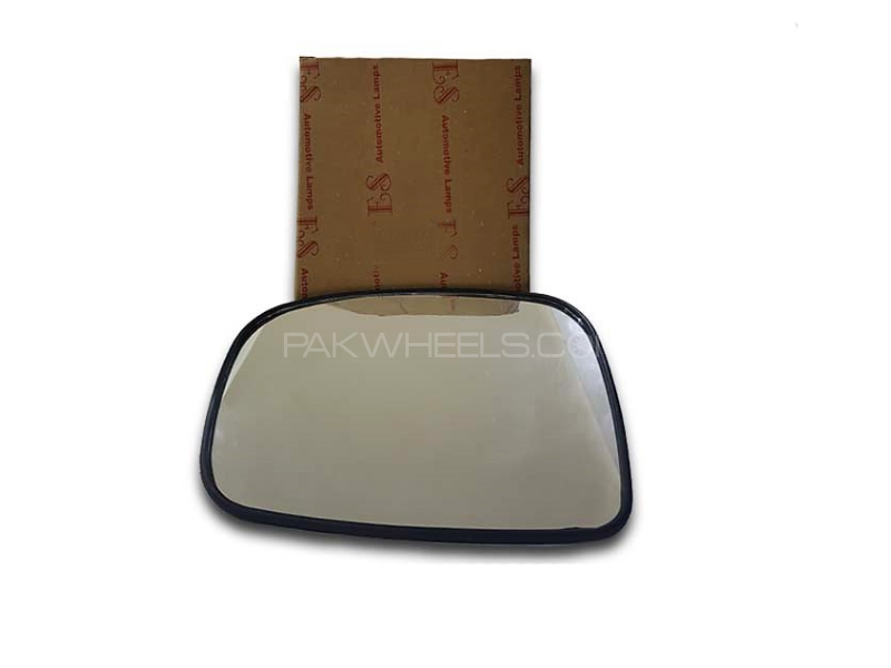 Toyota Corolla 2000 Side Mirror Glass 1pc Image-1