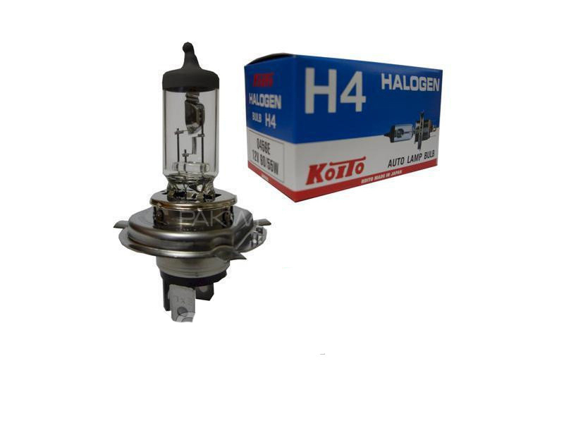 Koito Japan Head Light Bulbs H4 - 55/60w 1pc Image-1