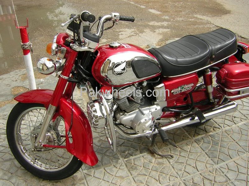 Used honda cd 200 1984 bike for sale in karachi 103138 for Used hondas for sale
