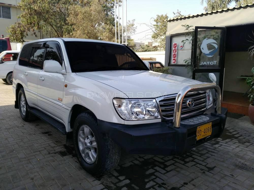 Toyota Land Cruiser VX Limited 4.2D 2003 Image-1