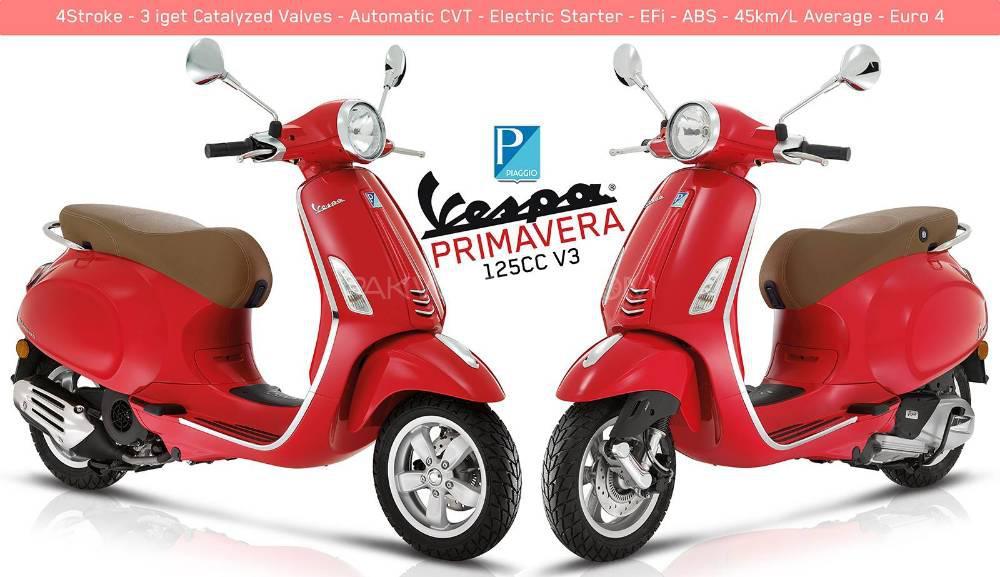 Vespa Primavera 150 2018 Image-1