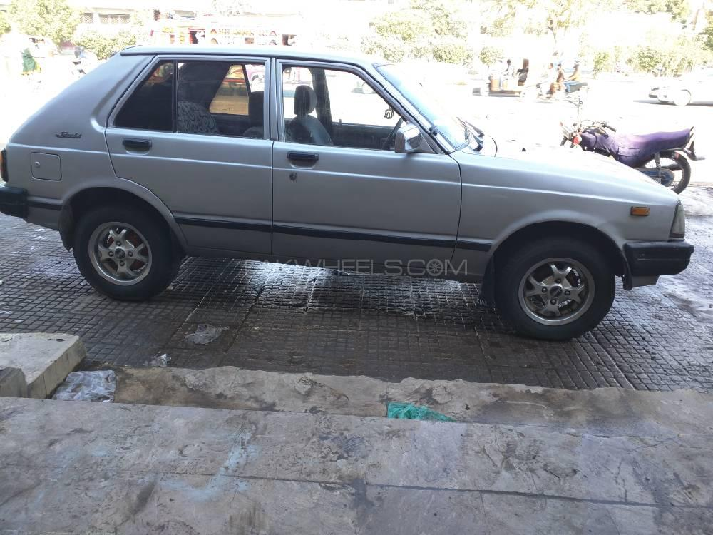 Toyota Starlet 84 For Sale In Karachi: Toyota Starlet 1.3 1984 For Sale In Karachi
