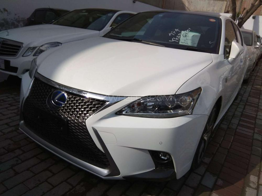 lexus ct200h f sport 2014 for sale in lahore pakwheels. Black Bedroom Furniture Sets. Home Design Ideas