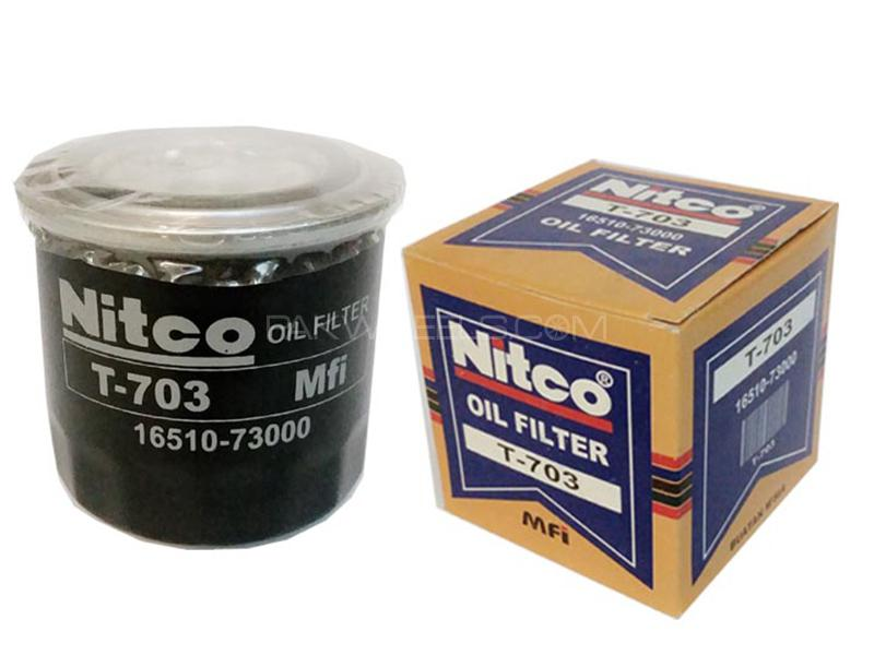 Nitco Oil Filter - Suzuki - Bolan - T703 in Karachi