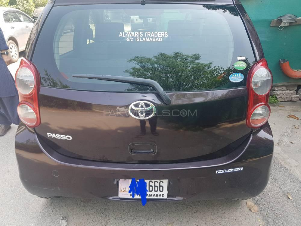 Toyota Passo X V Package 2013 Image-1