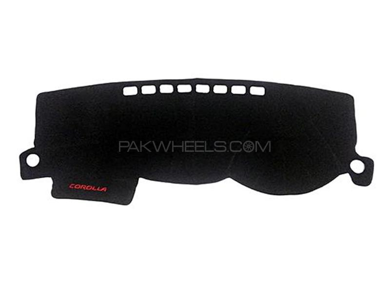 Dashboard Cover Carpet For Toyota Corolla - 2005 Image-1