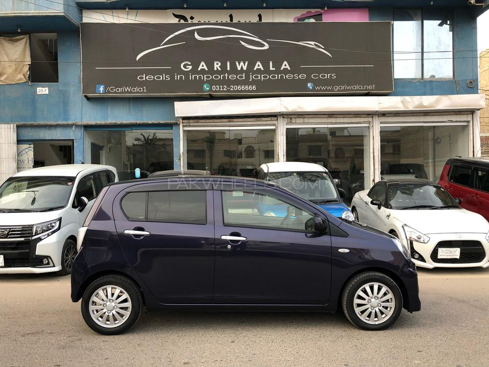 ®GARIWALA® Daihatsu Mira ES, 660C.c,  Navy Blue/Dark Blue Eco-Idle Stop Technology, X-Memorial Package,  ( Radar for Emergency stop signal ), Model 2016, Fresh cleared/import 2018, Original 4-Grade Auction Sheet ( verifiable ), Original 9,630 K.M ( Verifiable ), Original Alloy Wheels,  Original Retractable Mirrors, Chrome finish around Air-condition vents, Vehicle stability control, Traction Control, Power Steering, Power Windows,  Safety Air-Bags,  Original CD-Player( company fitted),