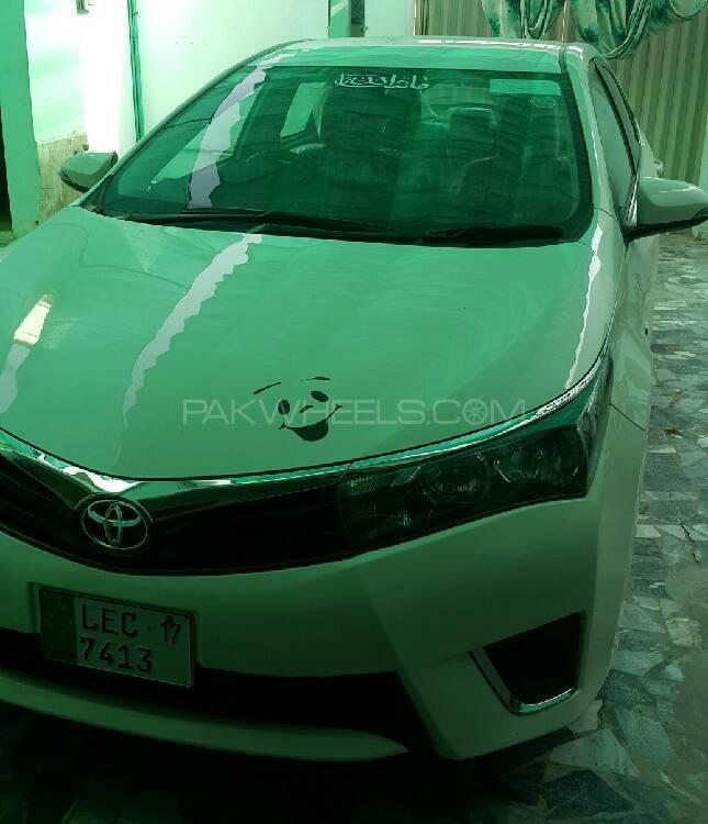 Toyota Corolla GLi Automatic 1.3 VVTi 2017 Image-1