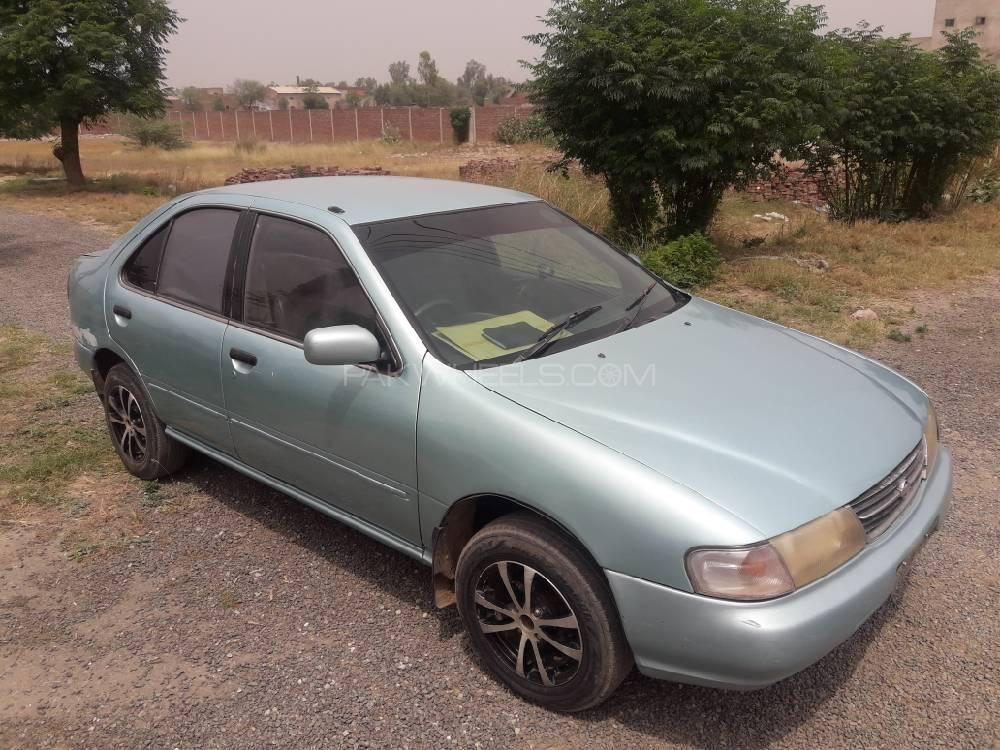 Nissan Sunny Super Saloon 1.6 (CNG) 1998 Image-1